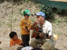 0823「農に親しむ親子ディキャンプ(23日)」ご報告
