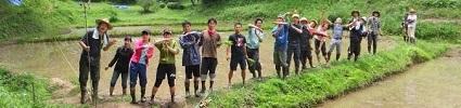 米を作ろう!稲作体験